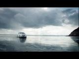 БМВ М5 тест драйв на пляже Лондона