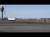 Посадка Ту-154 в Пулково